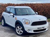 USED 2012 62 MINI COUNTRYMAN 1.6 ONE 5d  * 6 SPPED MANUAL GEARBOX * BLUETOOTH *