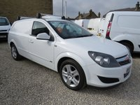 USED 2009 59 VAUXHALL ASTRA 1.9 CDTI SPORTIVE 120 BHP VAN WITH AIR CONDITIONING