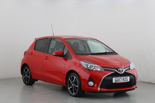 View our 2017 17 TOYOTA YARIS 1.3 VVT-I DESIGN 5d 99 BHP