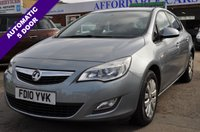 2010 VAUXHALL ASTRA 1.6 EXCLUSIV 5d 113 BHP £4495.00