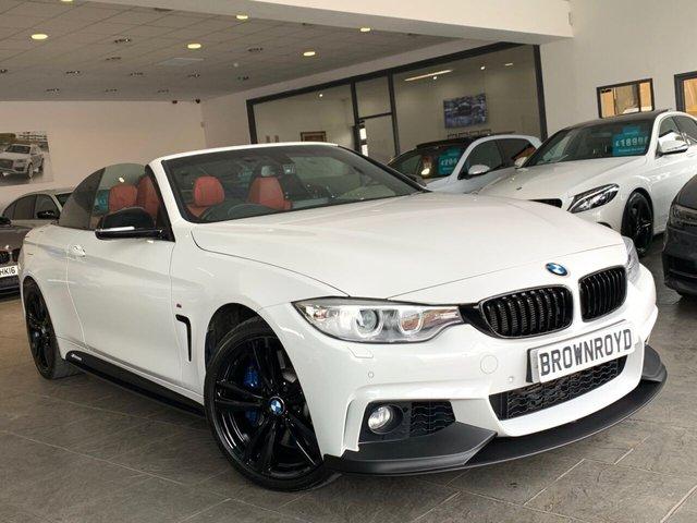 USED 2016 16 BMW 4 SERIES 3.0 435D XDRIVE M SPORT 2d 309 BHP BM PERFORMANCE STYLING+6.9%APR