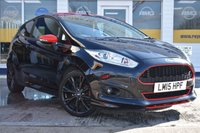 USED 2015 15 FORD FIESTA 1.0 ZETEC S BLACK EDITION 3d 139 BHP NO DEPOSIT FINANCE AVAILABLE