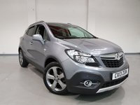 USED 2013 13 VAUXHALL MOKKA 1.7 SE CDTI S/S 5d 128 BHP SAT-NAV+ HEATED SEATS + HEATED STEERING WHEEL+ LANE ASSIST+ COLLISION ALERT