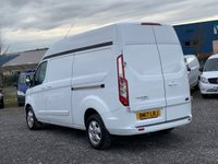 USED 2017 17 FORD TRANSIT CUSTOM 2.0 310L LIMITED EURO 6 LWB EXTRA HIGH ROOF HR 130 BHP LWB, EXTRA HIGH ROOF, EURO 6, AC, ONE OWNER FROM NEW