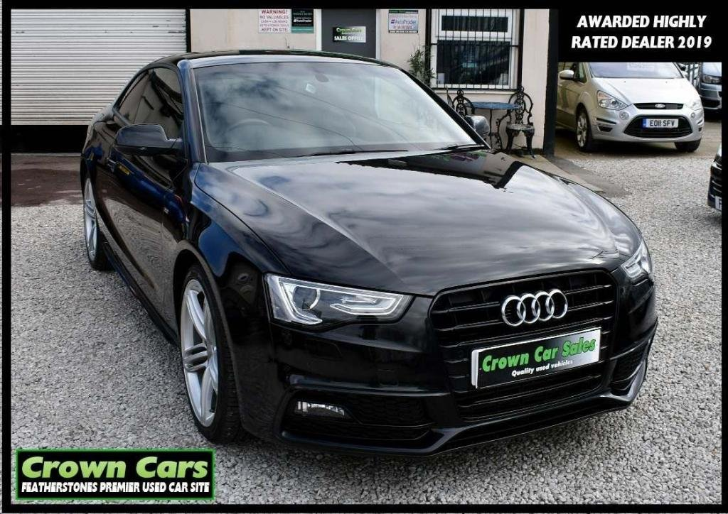 USED 2012 62 AUDI A5 2.0 TDI Black Edition 2dr RESERVE TODAY VIEW LATER