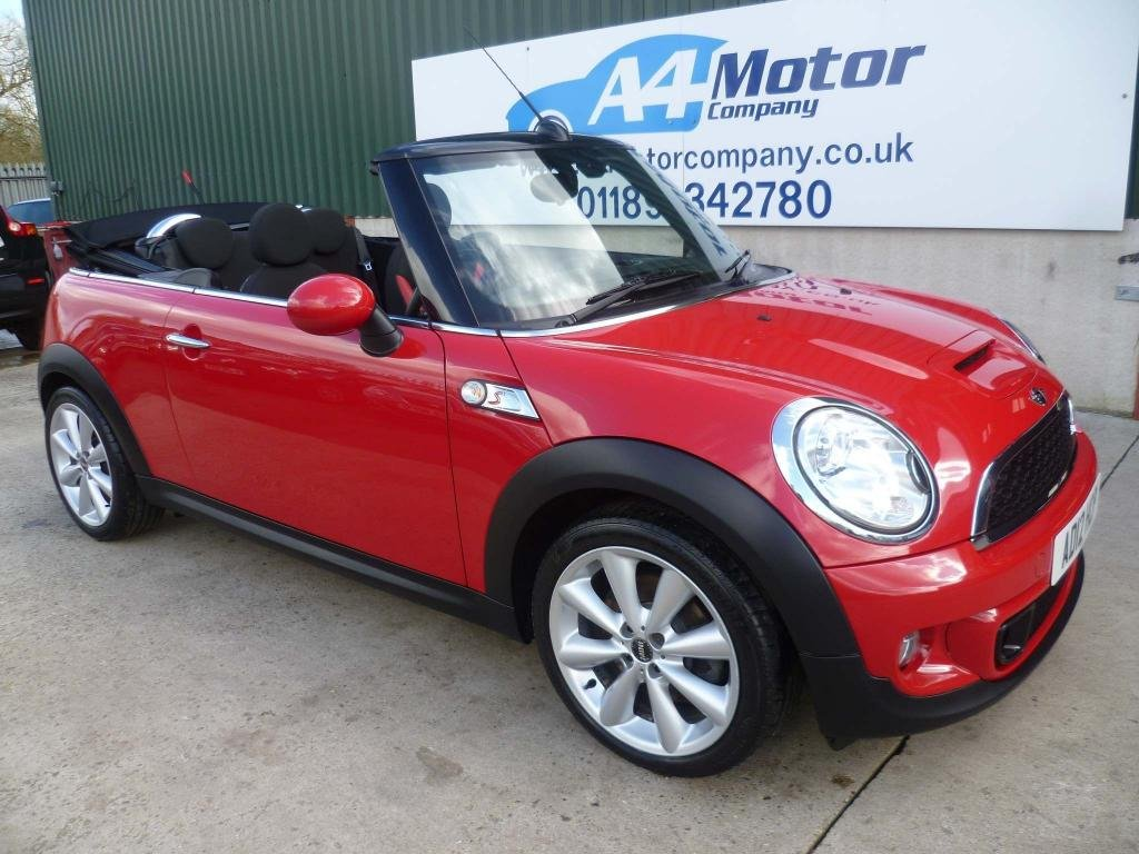 USED 2012 12 MINI CONVERTIBLE 1.6 Cooper S Avenue 2dr 115 + REVIEWS YOU CAN TRUST!!