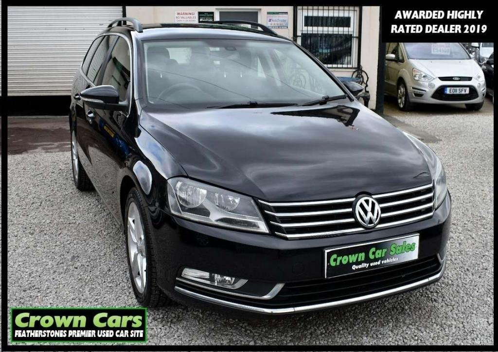 USED 2012 12 VOLKSWAGEN PASSAT 2.0 TDI BlueMotion Tech SE 5dr RESERVE TODAY VIEW LATER