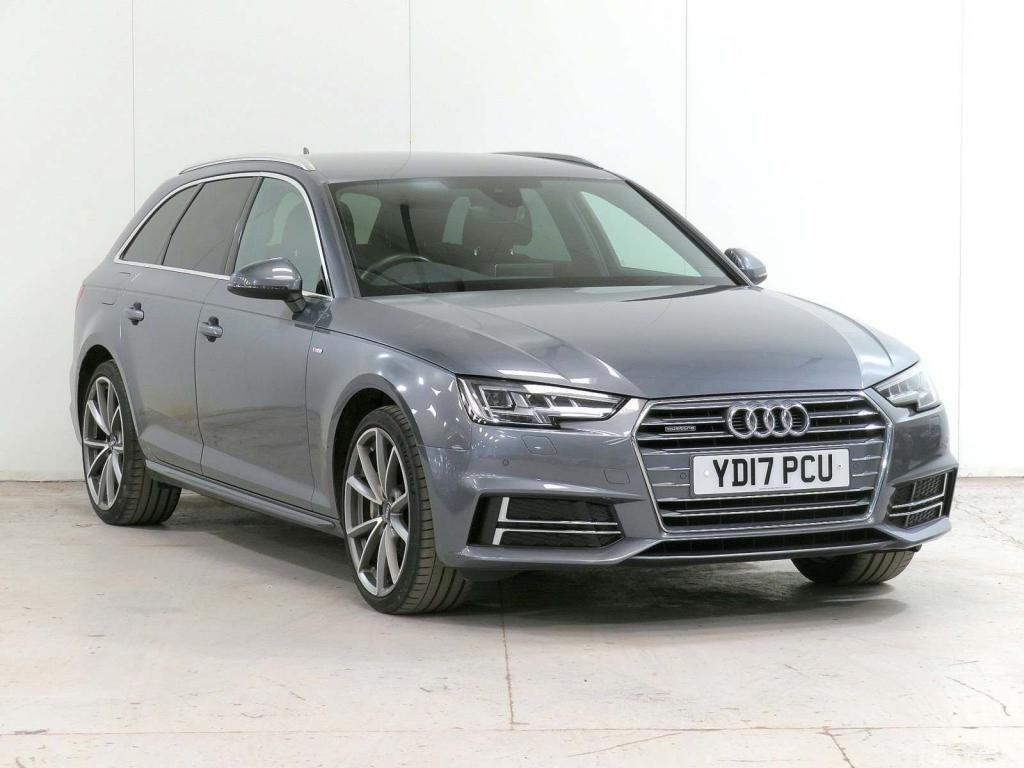 USED 2017 17 AUDI A4 2.0 TDI S line Avant S Tronic quattro (s/s) 5dr **£6,525 EXTRAS**HOME-DELIVERY