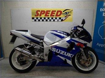 2001 SUZUKI GSX R750 GSX R750 £2495.00