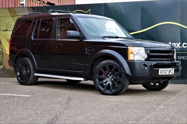 2007 07 LAND ROVER DISCOVERY 2.7 3 TDV6 7 SEATER 7 SEATS LEATHER AUTOMATIC HSE 5d 188 BHP
