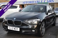 2012 BMW 1 SERIES 1.6 116I SPORT 5d 135 BHP £6995.00