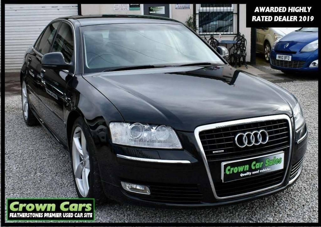 USED 2009 59 AUDI A8 3.0 TDI Sport quattro 4dr LWB RESERVE TODAY VIEW LATER