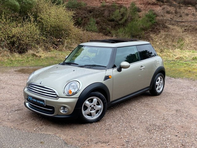 USED 2010 60 MINI HATCH COOPER 1.6 COOPER 3d 122 BHP NEW IN