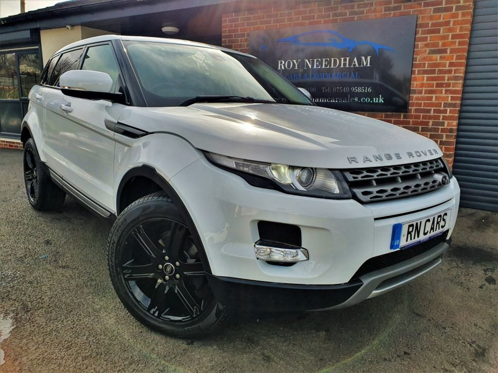 USED 2013 13 LAND ROVER RANGE ROVER EVOQUE 2.2 SD4 PURE 5DR 190 BHP * HEATED LEATHER - MERIDIAN SPEAKERS *