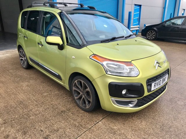 2010 10 CITROEN C3 PICASSO 1.6 PICASSO EXCLUSIVE HDI 5d 90 BHP