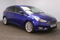 USED 2015 65 FORD FOCUS 1.5 TITANIUM X TDCI 5DR 118 BHP SERVICE HISTORY + FREE 12 MONTHS ROAD TAX + REVERSE CAMERA + PARK ASSIST + PARKING SENSOR + BLUETOOTH + CRUISE CONTROL + CLIMATE CONTROL + MULTI FUNCTION WHEEL + XENON HEADLIGHTS + DAB RADIO + ELECTRIC WINDOWS + ELECTRIC MIRRORS + ALLOY WHEELS