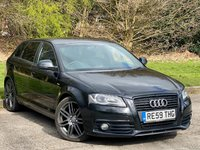 USED 2009 59 AUDI A3 2.0 SPORTBACK TDI S LINE SPECIAL EDITION 5d 138 BHP BOSE SOUND SYSTEM