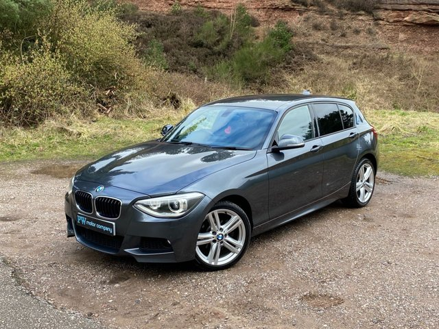 USED 2013 63 BMW 1 SERIES 1.6 118I M SPORT 5d 168 BHP NEW IN