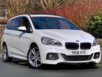 USED 2018 18 BMW 2 SERIES 1.5 218I M SPORT GRAN TOURER 5d 134 BHP HPI CLEAR / STUNNING EXAMPLE!