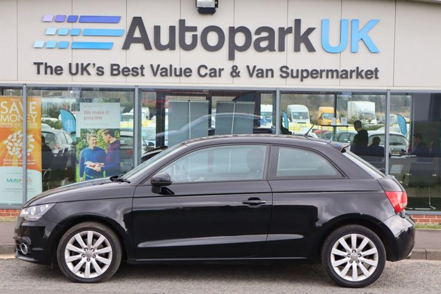 USED 2012 12 AUDI A1 1.4 TFSI SPORT 3d 122 BHP LOW DEPOSIT OR NO DEPOSIT FINANCE AVAILABLE