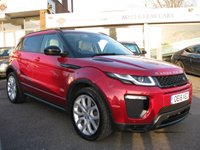 USED 2016 16 LAND ROVER RANGE ROVER EVOQUE 2.0 TD4 HSE DYNAMIC LUX 5d 177 BHP Navigation. Full Land Rover history. Full Leather Heated seats. Heated steering wheel. Panoramic Sunroof. 20'' Alloy wheels. Xenon headlights