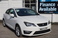 "USED 2013 13 SEAT IBIZA 1.2 TSI FR 3d 104 BHP 2 Owners, Sat Nav, Bluetooth, 16"" Alloys, Privacy Glass"