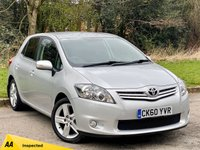 USED 2010 60 TOYOTA AURIS 1.6 SR VALVEMATIC  5d 132 BHP * 12 MONTHS AA BREAKDOWN COVER * 128 POINT AA INSPECTED *