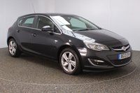 USED 2013 13 VAUXHALL ASTRA 1.4 SRI 5DR 98 BHP SERVICE HISTORY + CRUISE CONTROL + MULTI FUNCTION WHEEL + AIR CONDITIONING + RADIO/CD + ELECTRIC WINDOWS + ELECTRIC/HEATED DOOR MIRRORS + 17 INCH ALLOY WHEELS