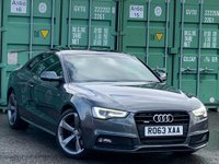 USED 2013 63 AUDI A5 2.0 TD Black Edition S Tronic quattro 2dr BlackPack/PanRoof/Xenon+/DAB