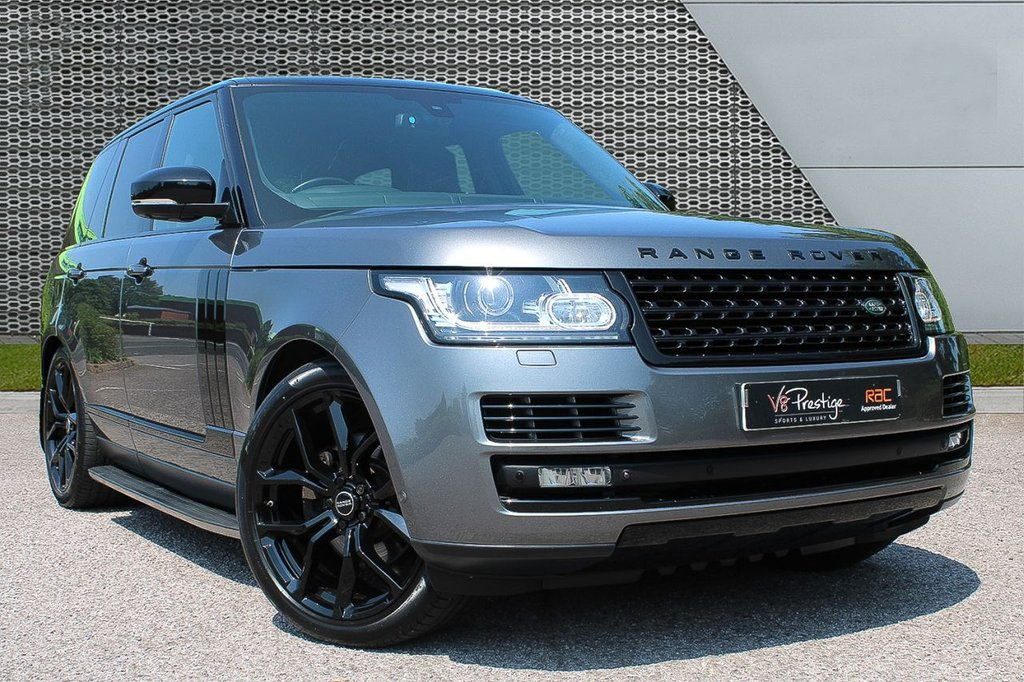 """USED 2015 15 LAND ROVER RANGE ROVER 3.0 TDV6 VOGUE AUTOBIOGRAPHY 5d 255 BHP **22"""" ALLOYS/BLACK PACK/EURO 6**"""