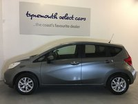 USED 2016 66 NISSAN NOTE 1.2 ACENTA PREMIUM 5d 80 BHP Fine LOW mileage high spec 1 Owner (+ pre reg) example in Storm Grey metallic -Only 15,270 miles with Full Nissan Service History from local supplying Nissan dealer -Sat Nav, DAB Radio, Bluetooth, Cruise,Air Conditioning and more -roomy stylish and great value with a superb reputation for quality and reliability come and see for yourself -please contact us on 0191 2581948 for more details and to book an appointment to view -we can also arrange finance so pls ask us for more info ,