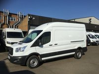 USED 2016 66 FORD TRANSIT 2.2TDCI T350 L3 H3 LWB HIGH ROOF 125BHP. EU6 ULEZ 1 OWNER. PX 1 OWNER. EURO 6 ULEZ. FINANCE. F/S/H. PX WELCOME