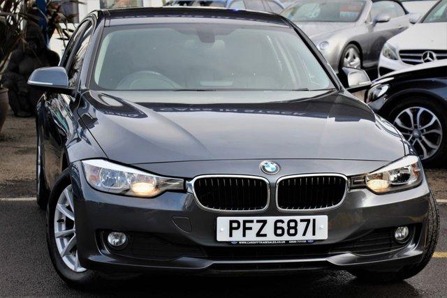 2013 BMW 3 SERIES 2.0 320D EFFICIENTDYNAMICS BUSINESS 4d 161 BHP