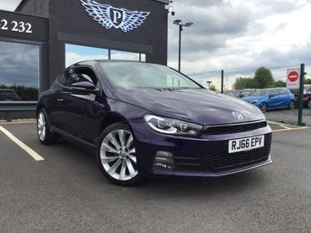 2016 VOLKSWAGEN SCIROCCO 1.4 GT TSI BLUEMOTION TECHNOLOGY 2d 123 BHP (CATEGORY N) £9950.00