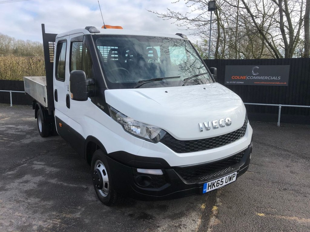 USED 2015 65 IVECO DAILY 2.3 35C13D D/CAB TIPPER (126 BHP)
