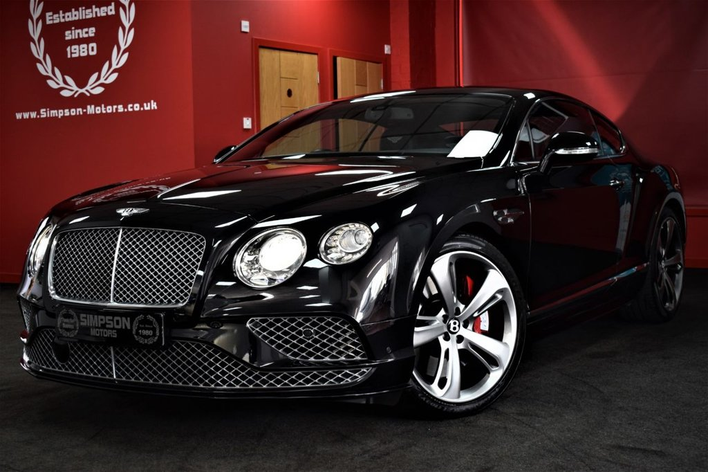 USED 2017 17 BENTLEY CONTINENTAL 6.0 W12 [635] SPEED 2DR AUTO