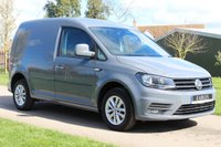 USED 2017 67 VOLKSWAGEN CADDY 2.0 C20 TDI HIGHLINE 101 BHP LATE DEC 2017 AUTOMATIC HIGHLINE TOP SEPC NARDO GREY