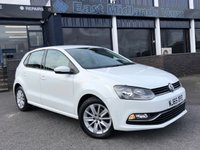 USED 2015 65 VOLKSWAGEN POLO 1.0 SE BLUEMOTION TECH 5d WHITE