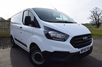 2018 FORD TRANSIT CUSTOM 2.0 300 BASE P/V L1 H1 104 BHP £12800.00