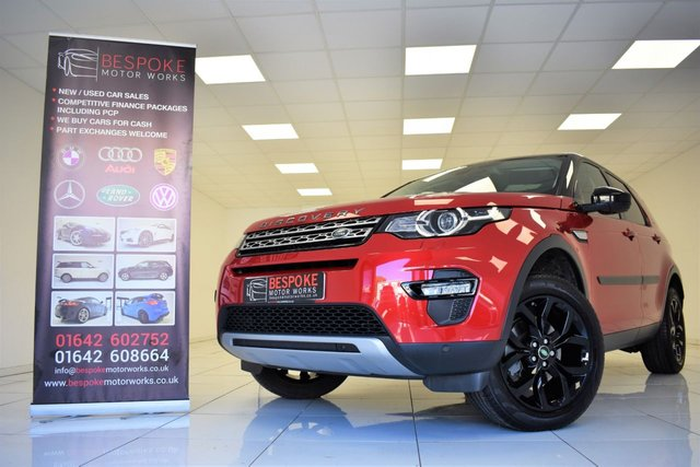 2016 16 LAND ROVER DISCOVERY SPORT 2.0 TD4 HSE 180 BHP