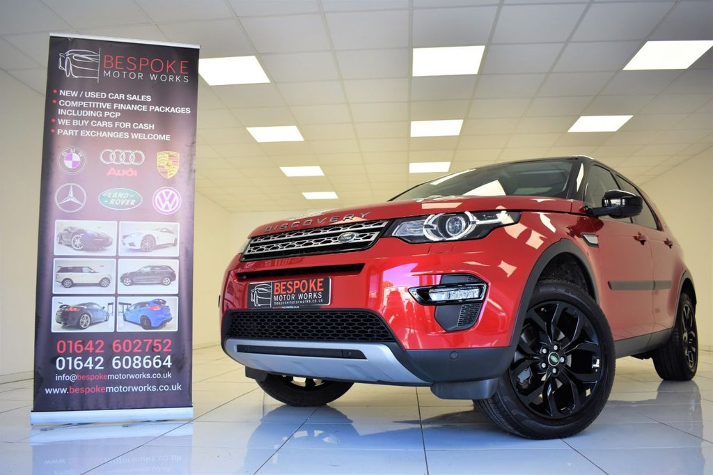 USED 2016 16 LAND ROVER DISCOVERY SPORT 2.0 TD4 HSE 180 BHP