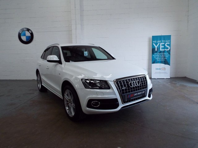 2011 61 AUDI Q5 2.0 TDI QUATTRO DPF S LINE 5d 168 BHP FULL LEATHERS 170 BHP SOLD TO MAT AND EMMA FROM DERBY
