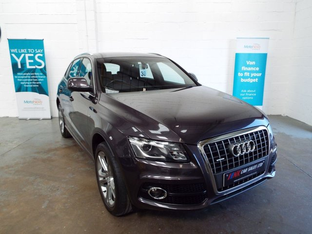 2012 12 AUDI Q5 2.0 TDI QUATTRO S LINE SPECIAL EDITION 5d SOLD TO DAVID FROM SHEFFIELD