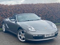 USED 2007 07 PORSCHE BOXSTER 2.7 24V 2d 242 BHP * CONVERTIBLE ROOF * SATELLITE NAVIGATION *