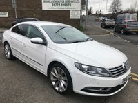 2012 VOLKSWAGEN CC 2.0 GT TDI BLUEMOTION TECHNOLOGY 4d 138 BHP £8495.00