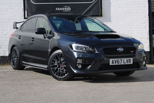 2017 67 SUBARU WRX 2.5 STI TYPE UK 4d 300 BHP