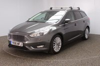 USED 2016 16 FORD FOCUS 1.5 TITANIUM X TDCI 5DR 118 BHP FULL SERVICE HISTORY + FREE 12 MONTHS ROAD TAX + HEATED HALF LEATHER SEATS + SATELLITE NAVIGATION + PARK ASSIST + PARKING SENSOR + BLUETOOTH + CRUISE CONTROL + CLIMATE CONTROL + MULTI FUNCTION WHEEL + XENON HEADLIGHTS + PRIVACY GLASS + ELECTRIC WINDOWS + ELECTRIC/HEATED DOOR MIRRORS + ALLOY WHEELS