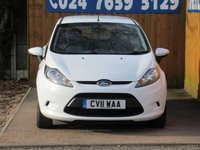 USED 2011 11 FORD FIESTA 1.2 EDGE 5d 59 BHP FSH, AUX INPUT, AIR CON