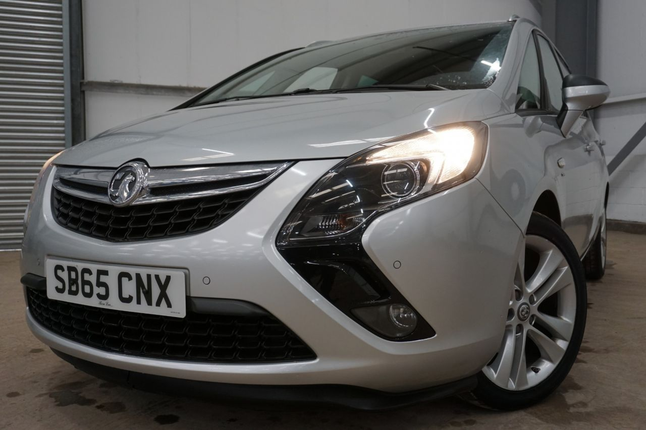 Used VAUXHALL ZAFIRA TOURER for sale