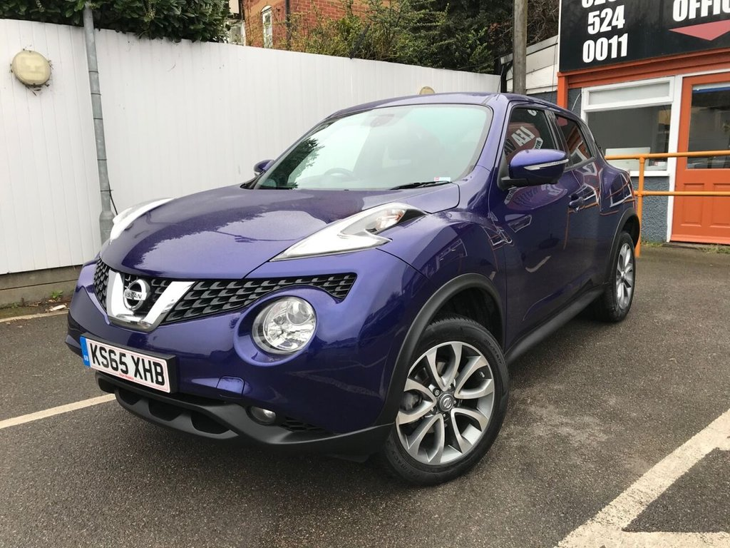USED 2016 65 NISSAN JUKE 1.6 TEKNA XTRONIC 5d 117 BHP SAT NAV, LEATHER + MORE